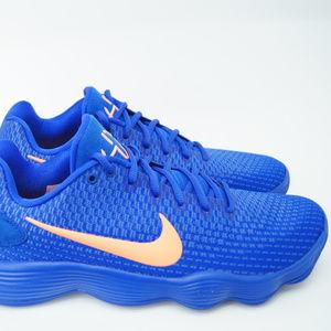 Nike Hyperdunk 2017 Low Mens Blue Orange Basketbal